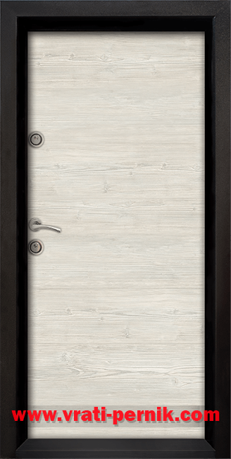 Блиндирана входна врата, модел Ale Door 402 цвят Sunta