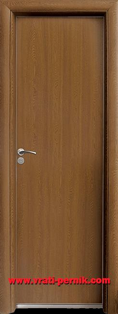 Алуминиева врата за баня – Standart, цвят Златен дъб